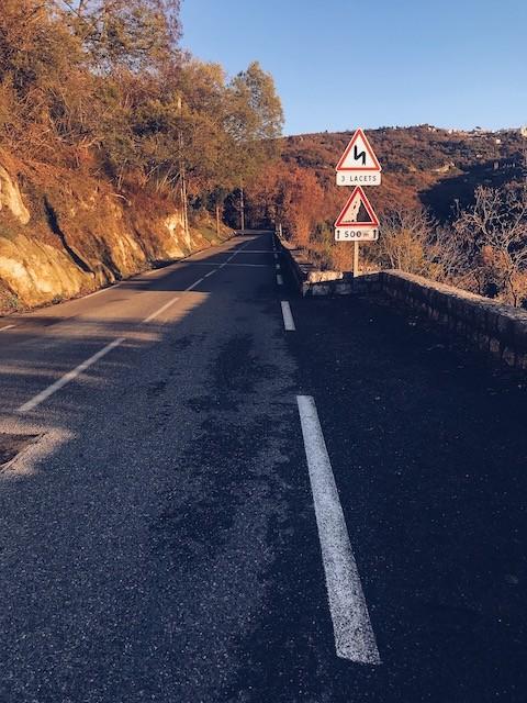 Parcours à vélo : Les belles couleurs sur la route