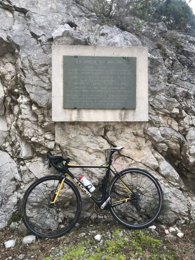 Plaque commémorative du Col Saint-Roch