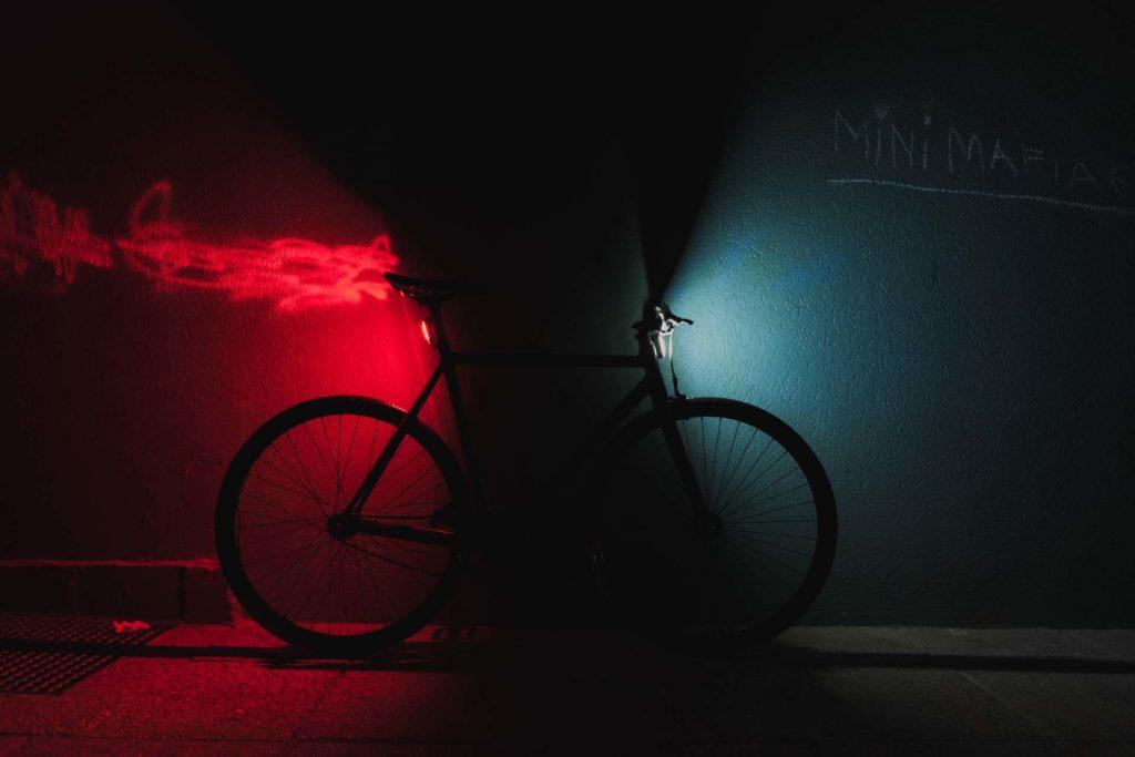 être visible à vélo